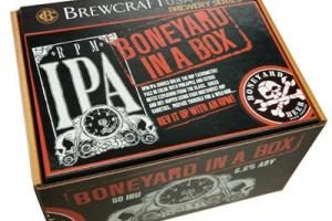 The_Hoppy_Brewer_boneyard in a box_Boneyard IPA Home brew kit