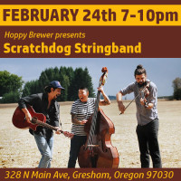Live Americana Music Featuring Portland's Scratchdog Stringband