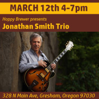 Jonathan Smith Trio Plays Live March 12th