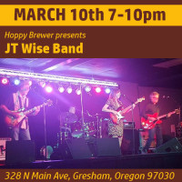 JT Wise Band Plays Live March 10th