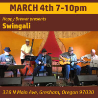 Listen to Live Music Featuring Swingali