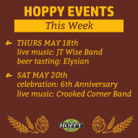 Music & Beer Tasting Events in Gresham | May 18th – May 20th