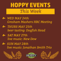 Music & Beer Tasting Events in Gresham | May 24th – May 28th