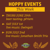 Music & Beer Tasting Events | June 29th – July 2nd