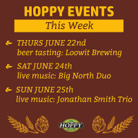 Music & Beer Tasting Events | June 22nd – June 25th