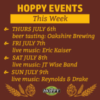 Live Music & Beer Tasting Events | July 6th – July 9th
