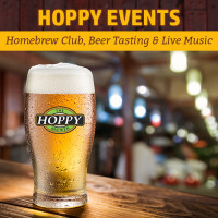 Homebrew Club, Live Music & Beer Tasting Events | August 23rd – August 27th