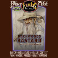Backwoods Bastard Look-Alike Contest & Beer Tasting Event