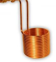 The_Hoppy_Brewer_Premium Wort Chiller with Brass Compression fittings