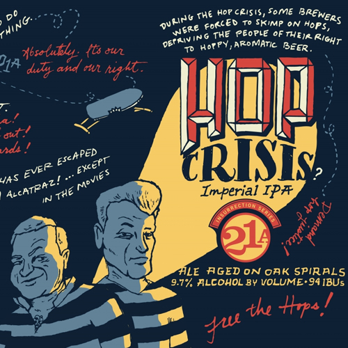Hoppy Brewer_Enjoy A Pint of Hop Crisis, An Imperial IPA Available On Tap-2