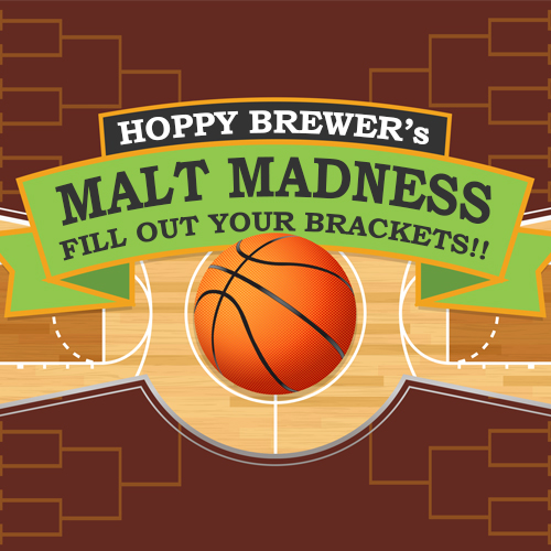 Hoppy Brewer March Madness brackets contest