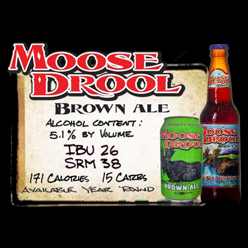 Hoppy_Brewer_Enjoy a Pint of Moose Drool Brown Ale at Hoppys