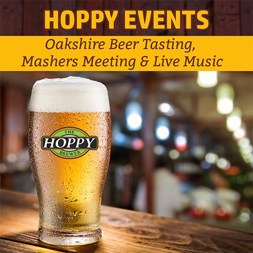 Hoppy_Brewer_Oakshire Beer Tasting Mashers Meeting & Live Music