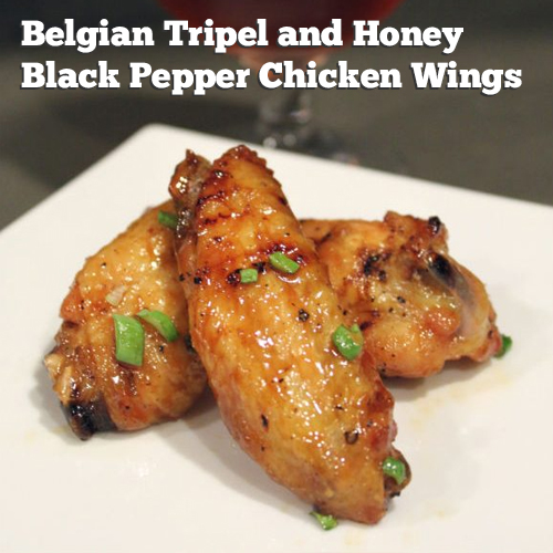 Hoppy Brewer_chicken wing beer recipe