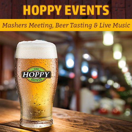 Hoppy_Brewer_Mashers Meeting, Beer Tasting and Live Music
