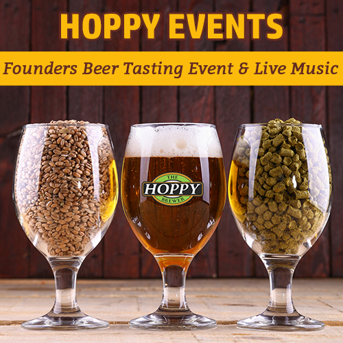 Hoppy_Brewer_Founders Beer Tasting Event & Live Acoustic Rock Music