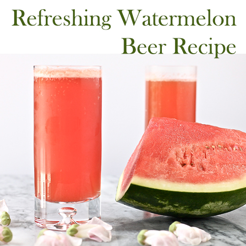 Hoppy Brewer_Refreshing Watermelon Beer Recipe