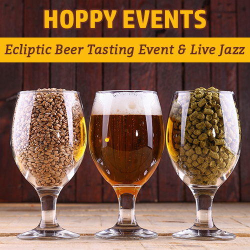 Hoppy_Brewer_Ecliptic Beer Tasting Event & Live Jazz Music