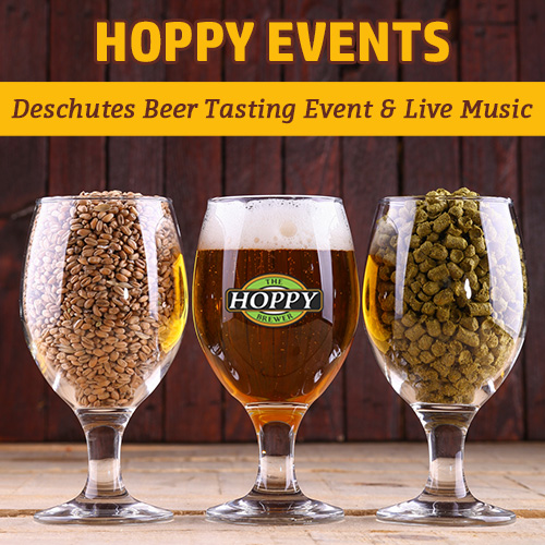 hoppy_weekly_events_Deschutes Beer Tasting Event & Live Soul Music