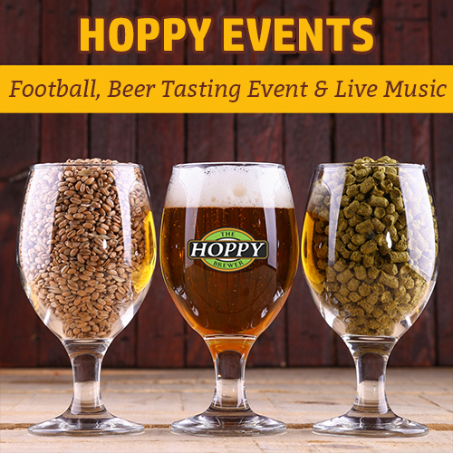 Hoppy_Brewer_Monday Night Football, Firestone Walker Beer Event & Live Music
