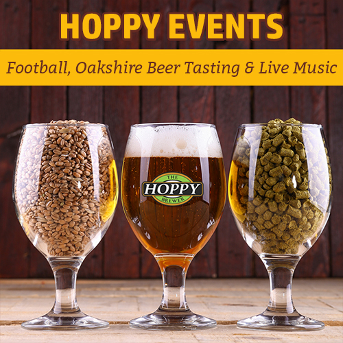Hoppy_Brewer_Monday Night Football, Oakshire Beer Tasting Event & Live Music