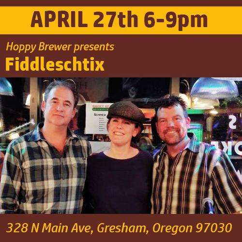 The Hoppy Brewer_Live Music Featuring Fiddleschtix_0419