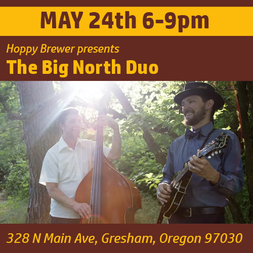 Live Music Featuring The Big North Duo_May 2019