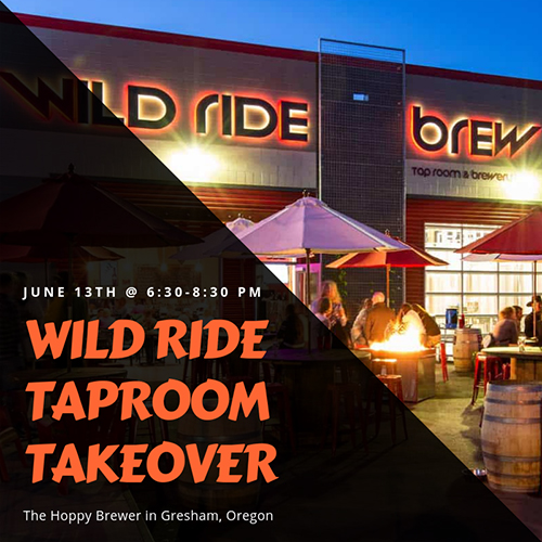 Hoppy Brewer_Wild Ride Taproom Takeover_0619