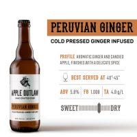 Enjoy a Peruvian Ginger Cider in Gresham