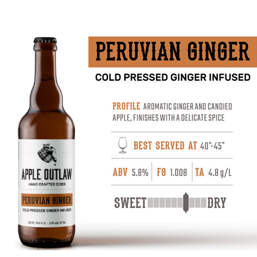 Hoppy Brewer_Enjoy a Peruvian Ginger Cider in Gresham