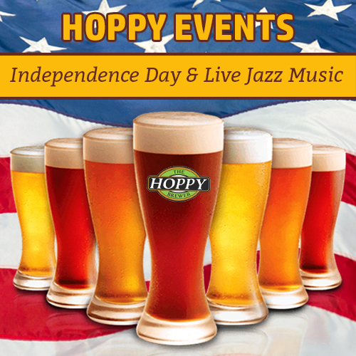 Hoppy Brewer_Independence Day & Live Jazz Music