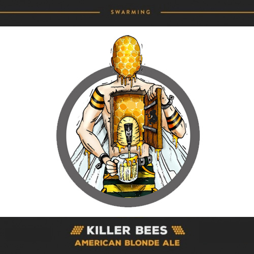 Hoppy Brewer_Killer Bees American Blond Ale on Tap