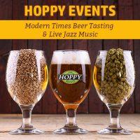 This Week: Modern Times Beer Tasting & Live Jazz Music