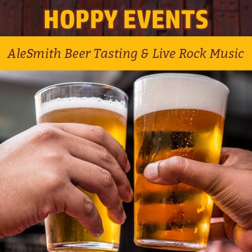 Hoppy Brewer_AleSmith Beer Tasting & Live Rock Music