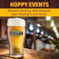 This Week: Mashers Meeting, New Belgium Beer Tasting & Live Music