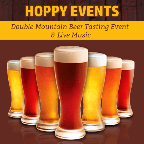 Hoppy Brewer_This Week Double Mountain Beer Event & Live Music