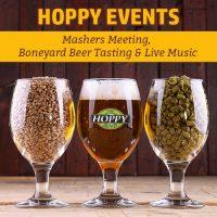 This Week: Mashers Meeting, Boneyard Beer Tasting & Live Music