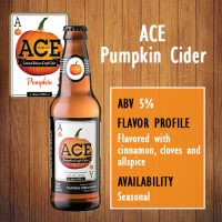 Try A Pint of ACE Pumpkin Cider Now Available On Tap