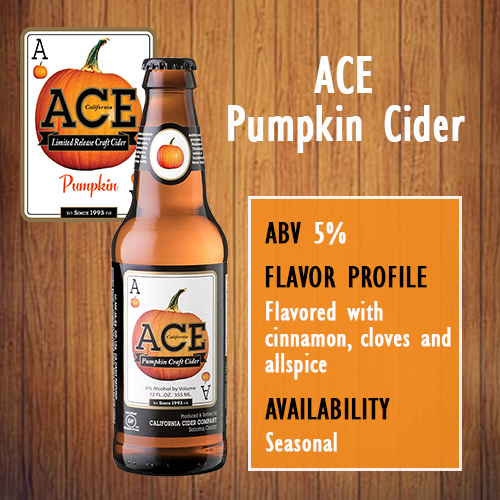 Hoppy Brewer_Try A Pint of ACE Pumpkin Cider Now Available On Tap