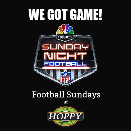 Hoppy Brewer_Watch Sunday Football & Drink Craft Beer at Hoppy's
