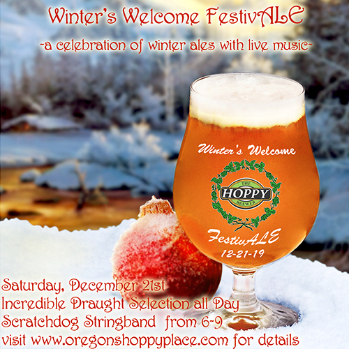 Hoppy Brewer Winters Welcome FestivALE 2019 fb