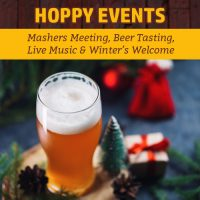 This Week: Mashers Meeting, Beer Tasting, Live Music & Winter's Welcome