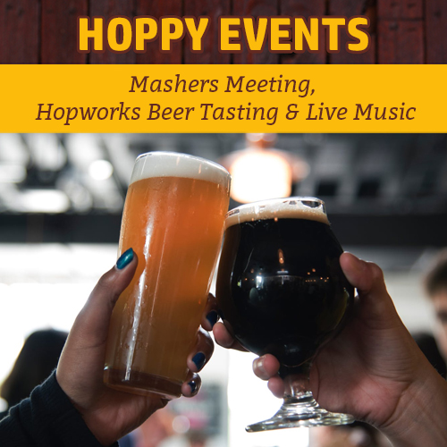 Hoppy Brewer_Weekly Events_February