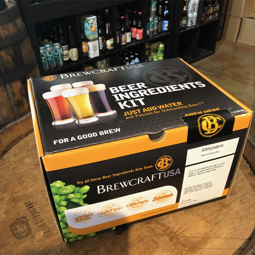 The Hoppy Brewer_Call In Your Homebrew Supply Order Today