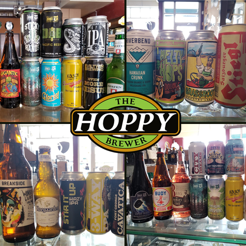 The Hoppy Brewer_Beers We Carry