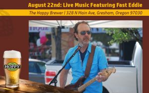 Fast Eddie performing Live Music at Hoppy Brewer