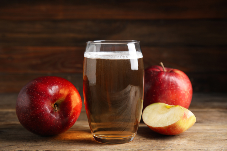 hard fall cider